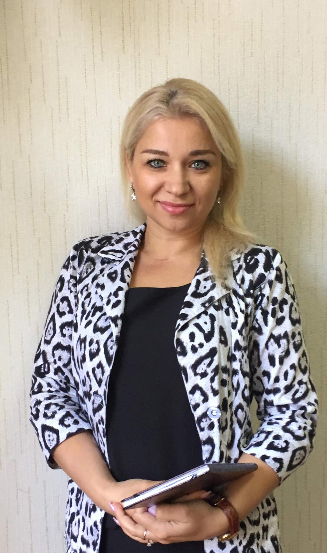 Гінкевич Оксана Валентинівна